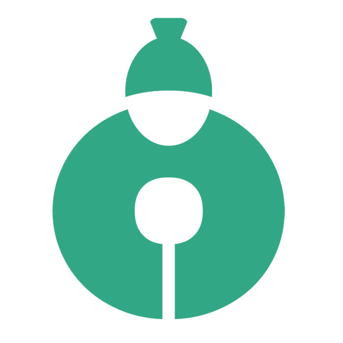 Square icon green