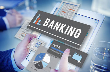 Small pic digital banking concept