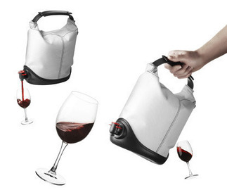 Small pic bag in box wine dispenser baggy winecoat menu 3