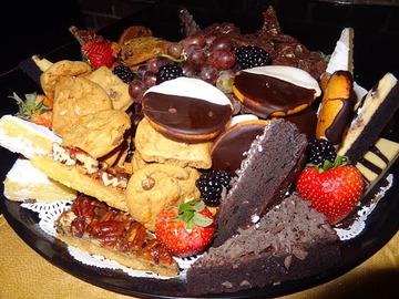 Small pic 12 dessert platter gourmet garage