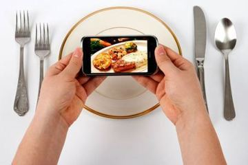 Small pic food smartphone blogging