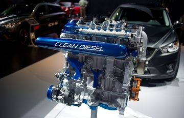 Small pic mazda skyactiv d clean diesel race engine for grand am le mans 1