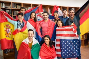Small pic international students