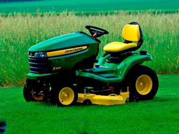 Small pic mower
