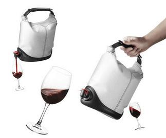 Small pic bag in box wine dispenser baggy winecoat menu 3