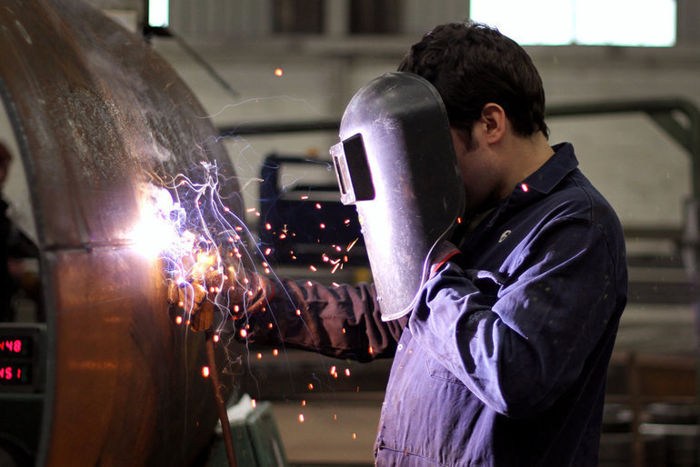 Hallenge two welder image