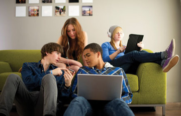 Small pic teens technology