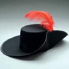 Square pic hat