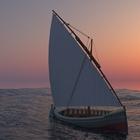 Square pic sailboat