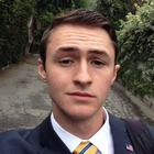 Square pic suit selfie